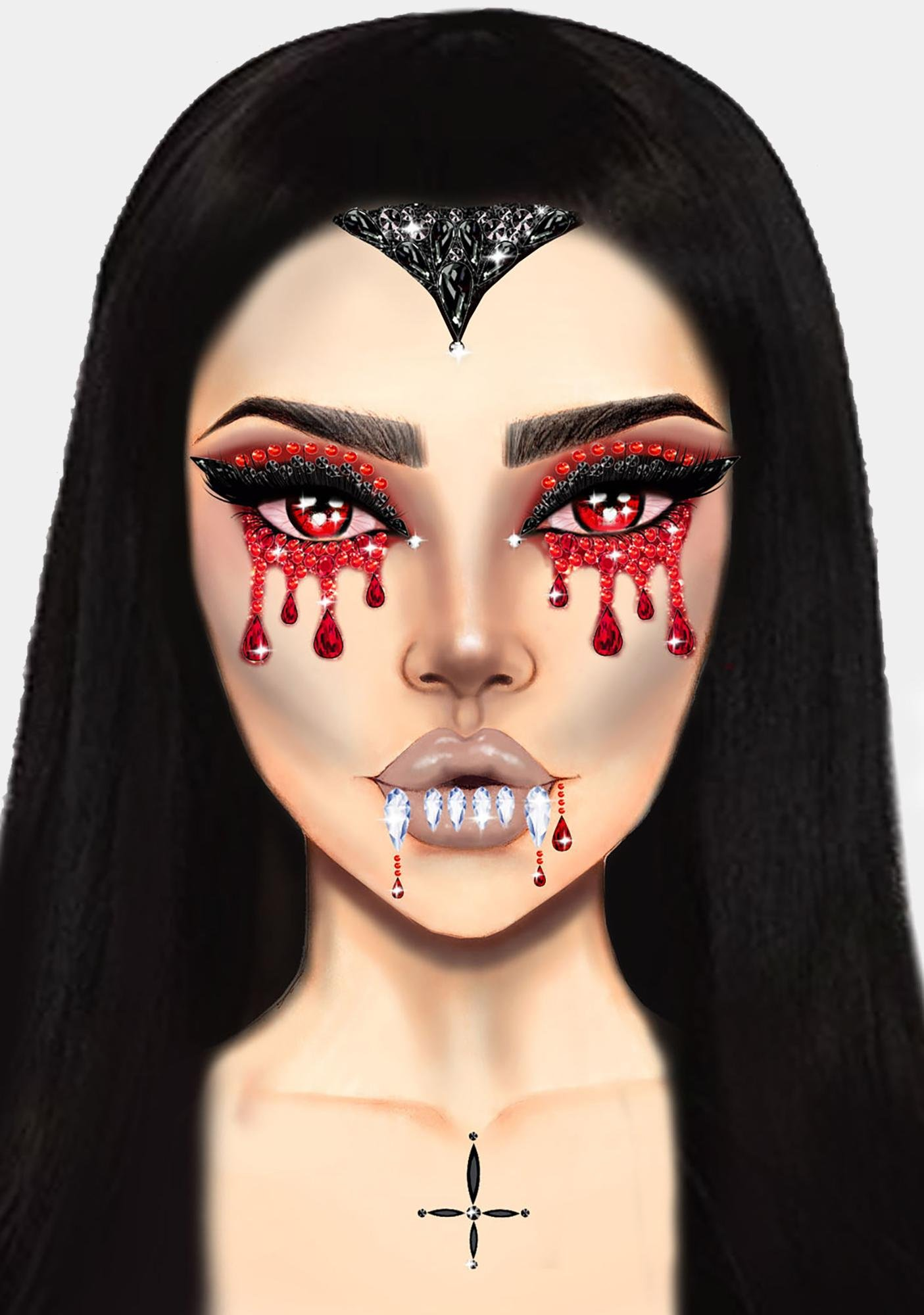 Vampire Vixen Face Jewels
