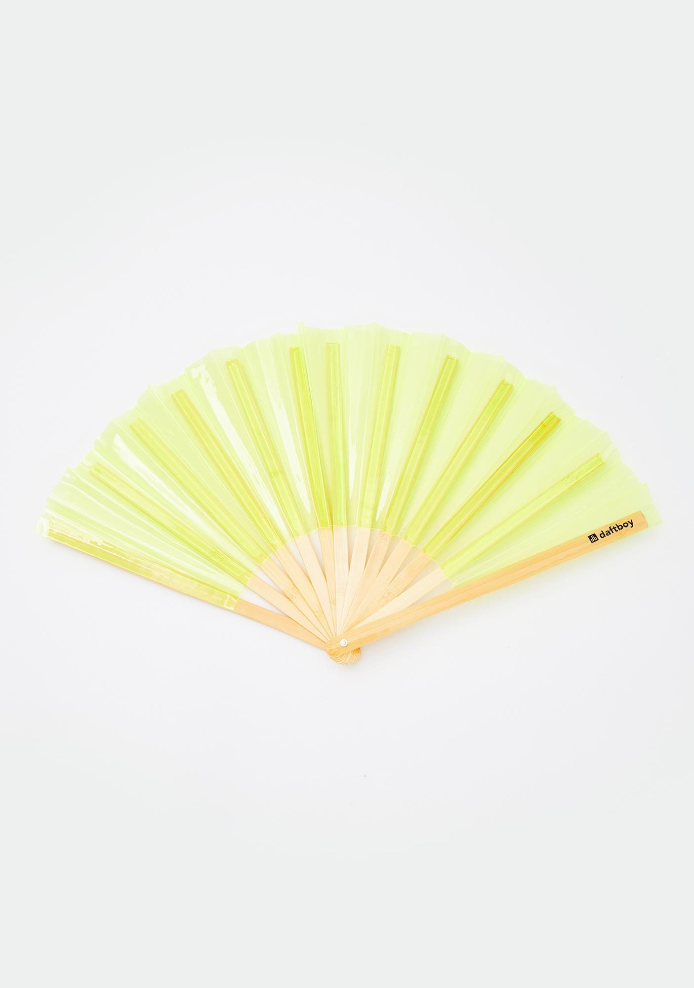 Daft Boy Hi-Lite Yellow Fan