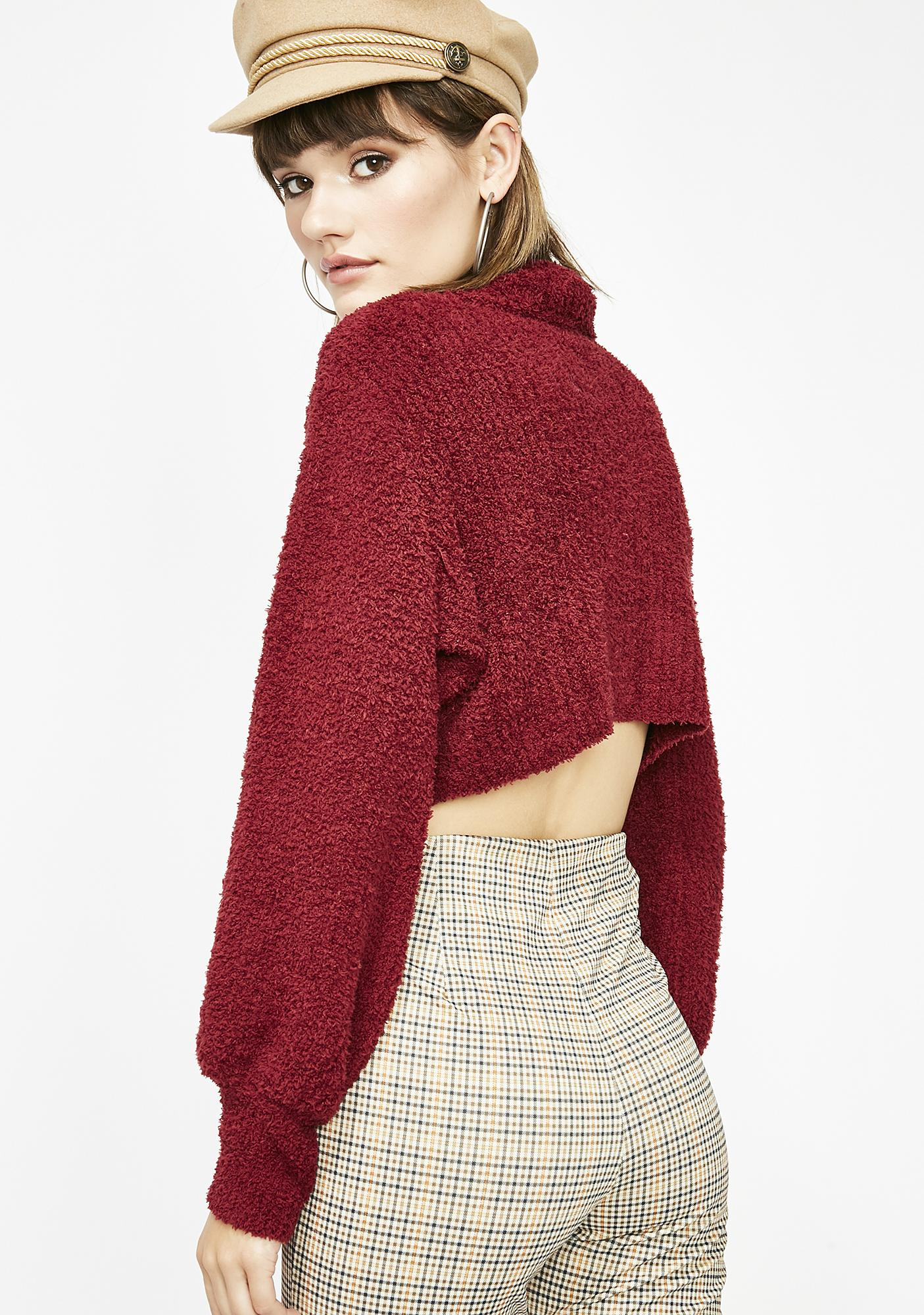 Likes For Likes Crop Sweater