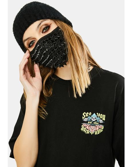 Deadly Sins Stud Face Mask
