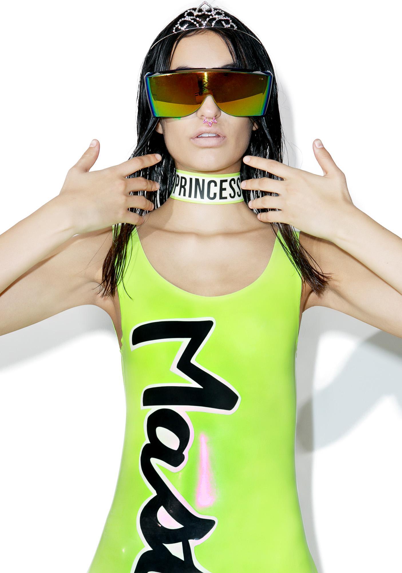 Meat Clothing Princess Choker