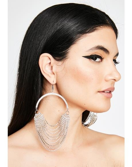 Reign Realness Hoop Earrings