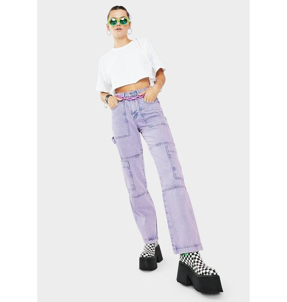 The Ragged Priest Innovation Cargo Jeans