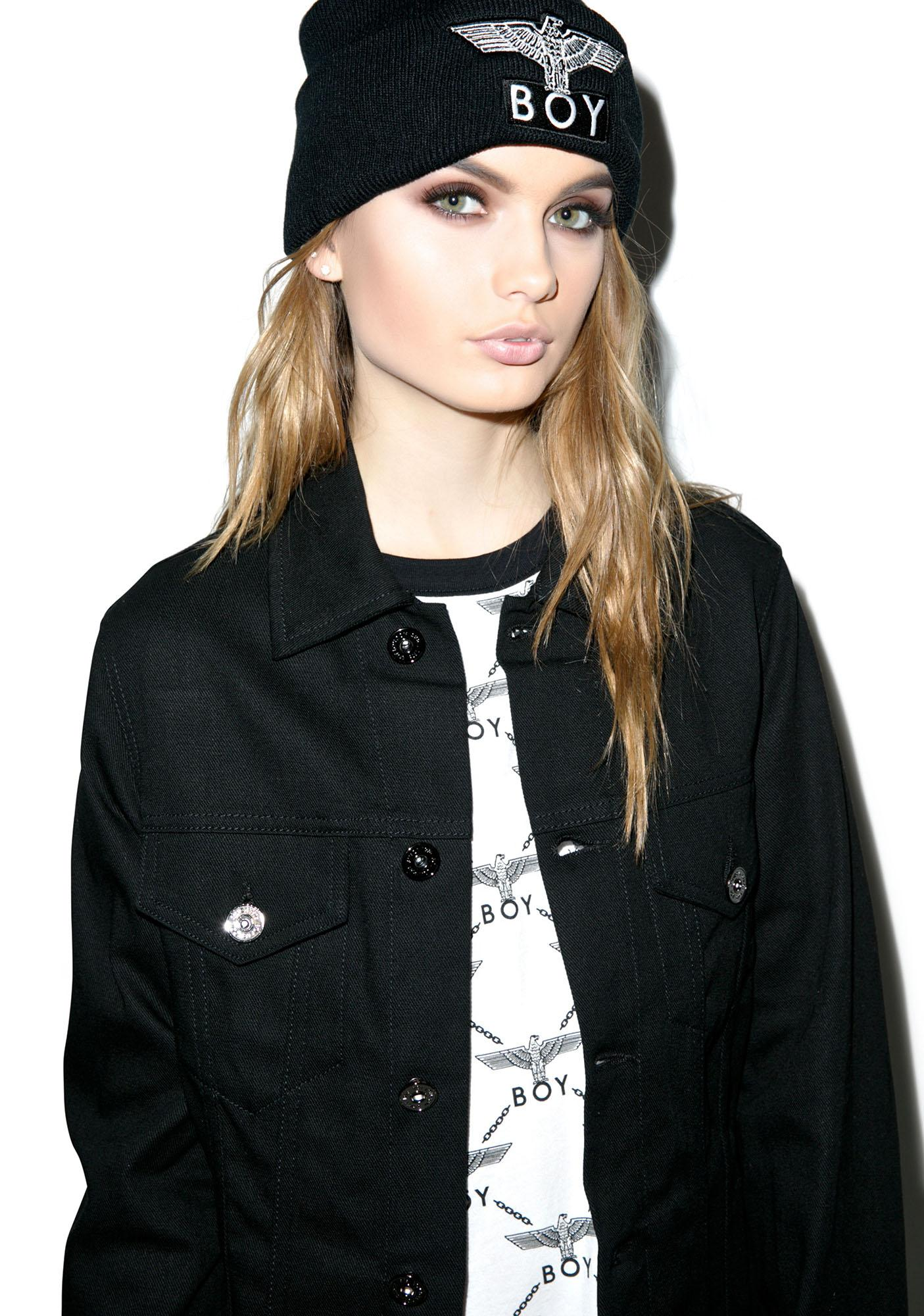 BOY London Classic Eagle Trucker Jacket