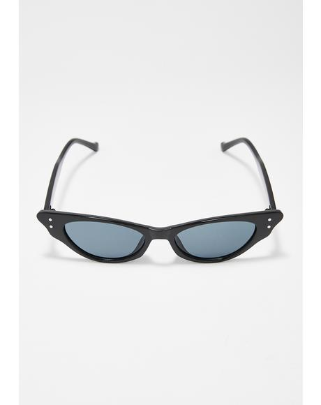 Noir Infinite Icon Cat Eye Sunglasses
