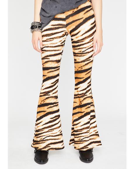 Temptress Tigress Flared Pants