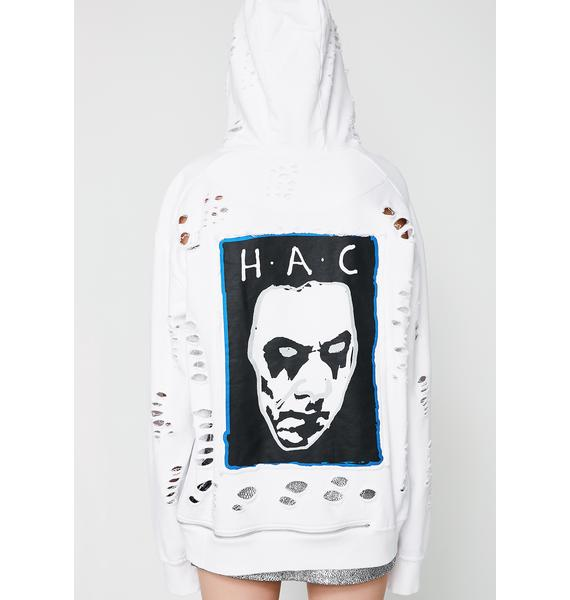 Haculla Destroyed Popularity Hoodie