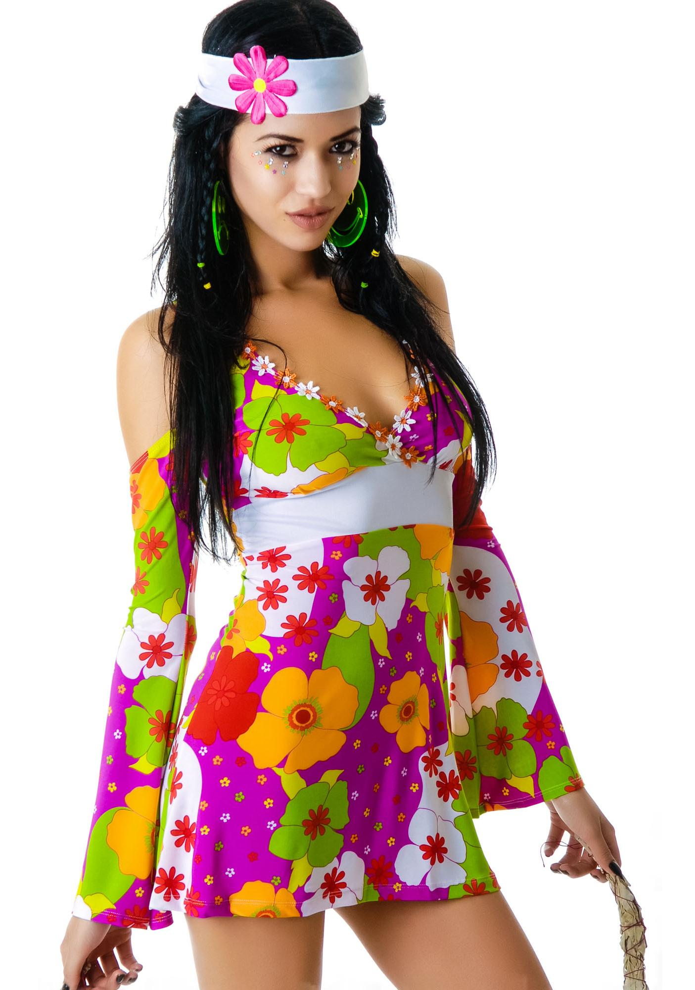 Lip Service Flower Child Dress