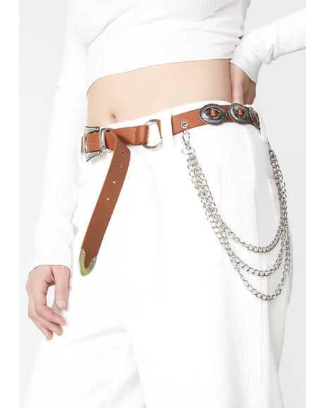 West World Concho Belt