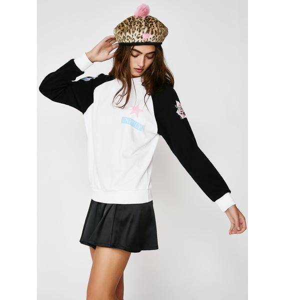 Wildfox Couture Unruly Pullover