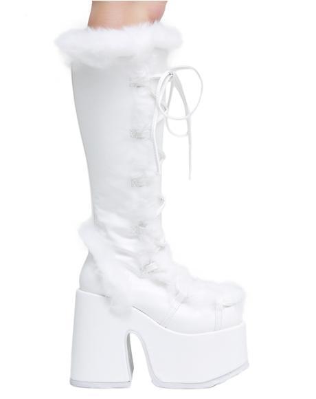 Pure Vigilance Platform Boots