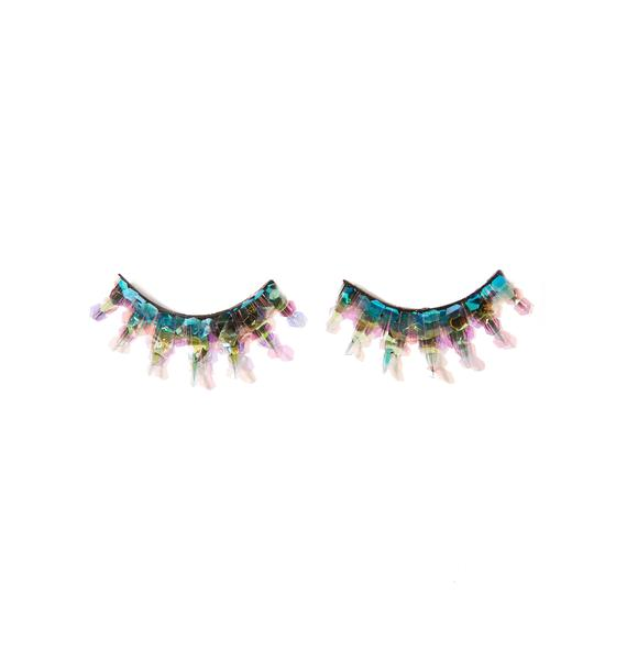 FromNicLove Mermaid Glitter Lashes