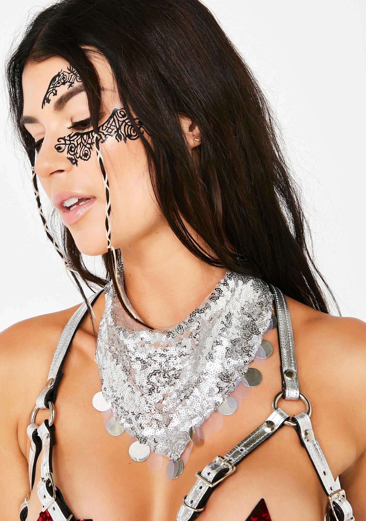 Sequin Bandit Necklace