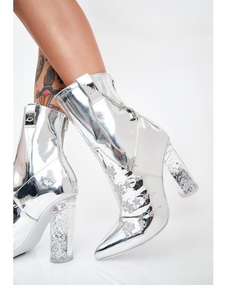 Cadet Heeled Boots