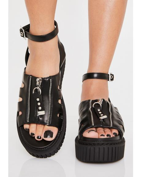 Sweet Lies Creeper Sandals