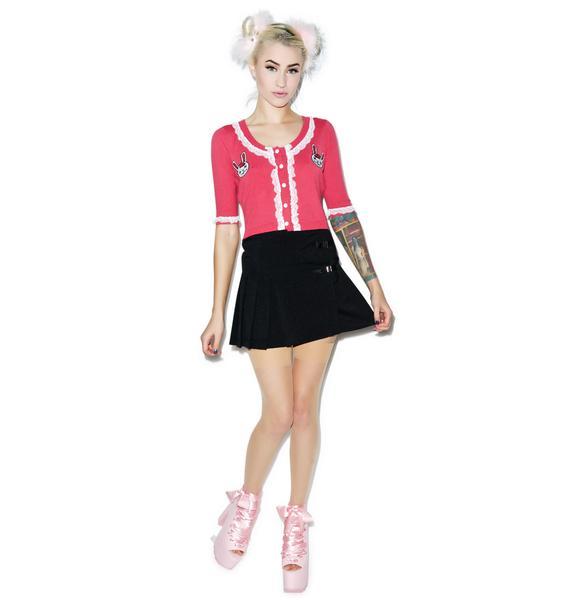 Sourpuss Clothing Zombie Bunnies Bella Cardigan