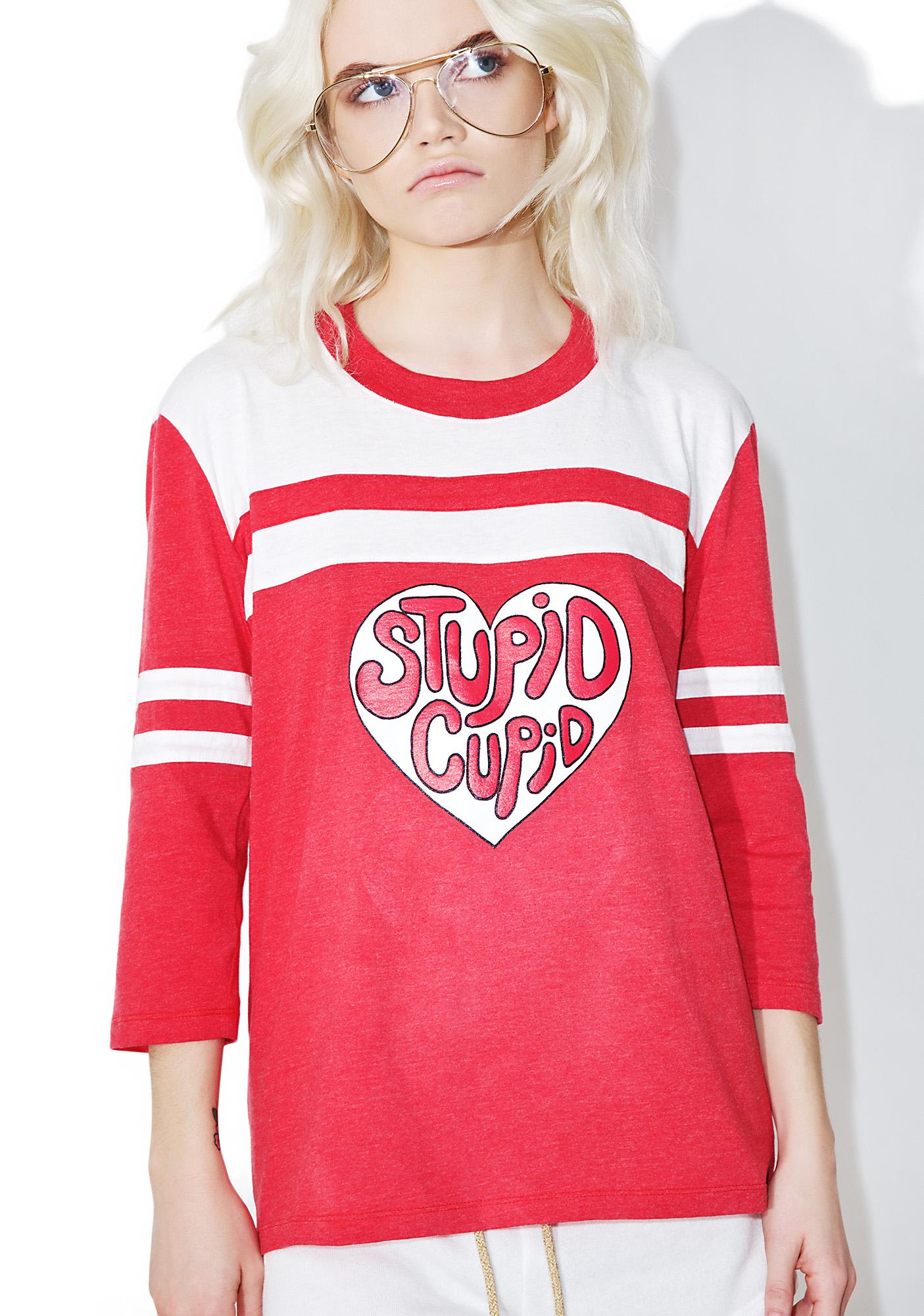Camp Collection Stupid Cupid Wittels Tee
