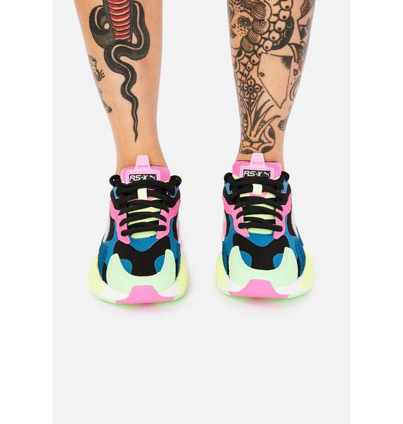 PUMA Metallic Puzzle RS-X3 Sneakers