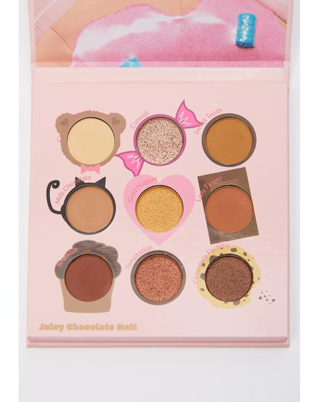 Juicy Nine Juicy Chocolate Melt Eyeshadow Palette