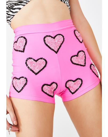 Barbie Sequin Shorts