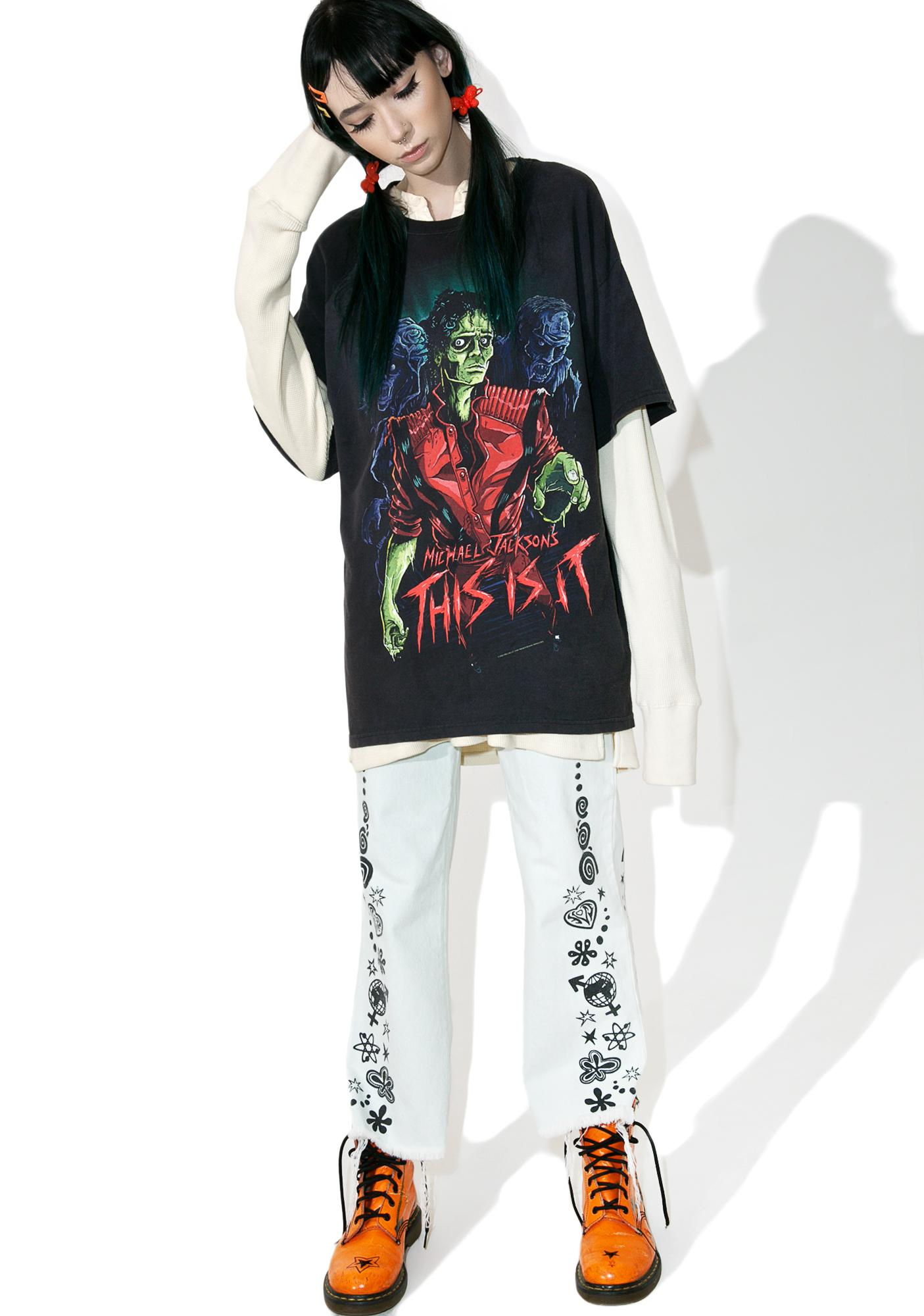 Vintage Michael Jackson This Is It Tee