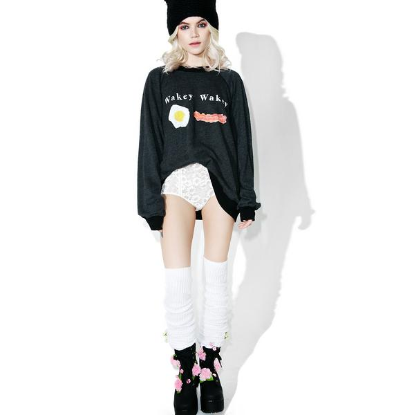 Wildfox Couture Eggs And Bakey Sommers Sweater