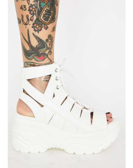 Medusa Open Toe Sandals