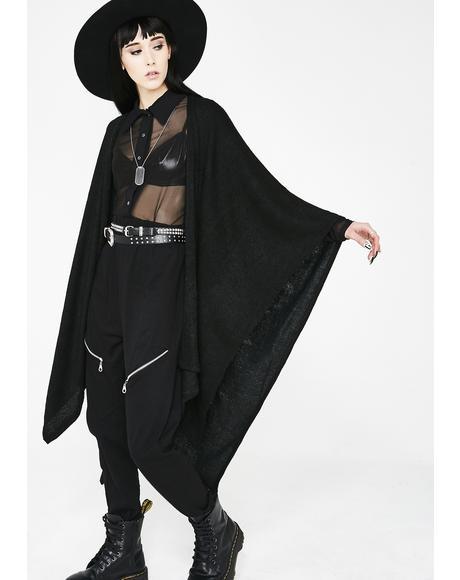 Dead Or Alive Oversize Cardigan