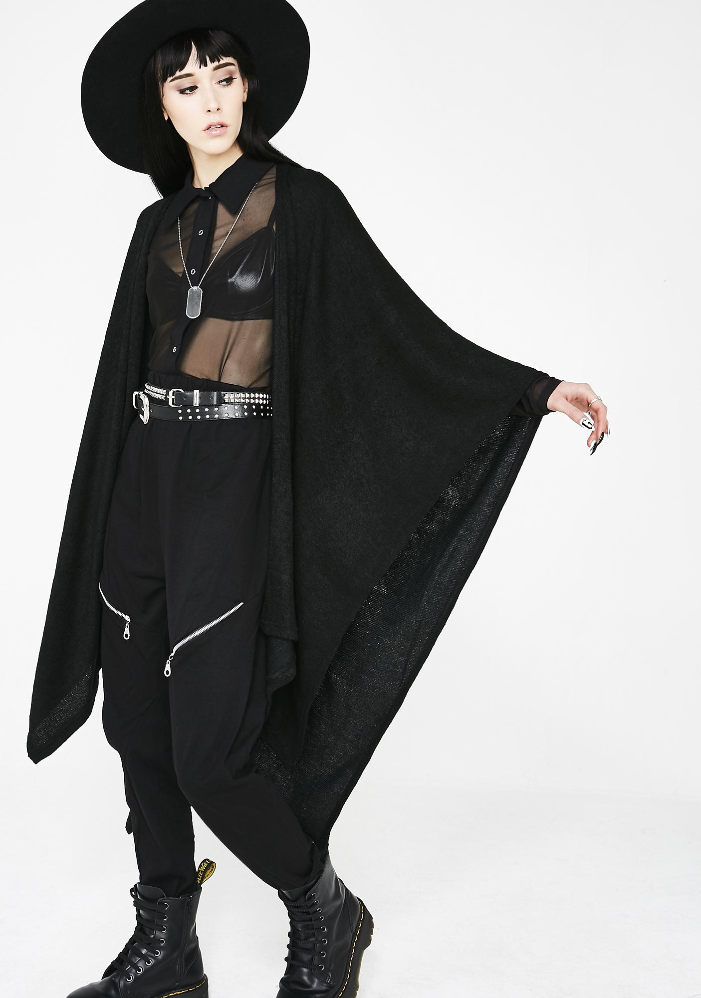 MNML Dead Or Alive Oversize Cardigan