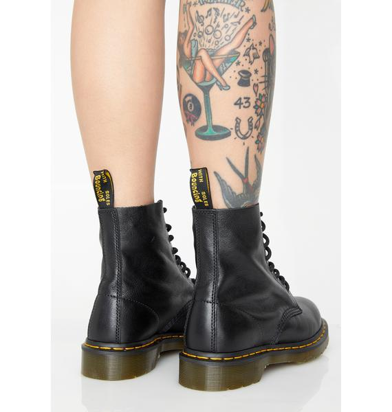 Dr. Martens Midnight 1460 Pascal Virginia Boots