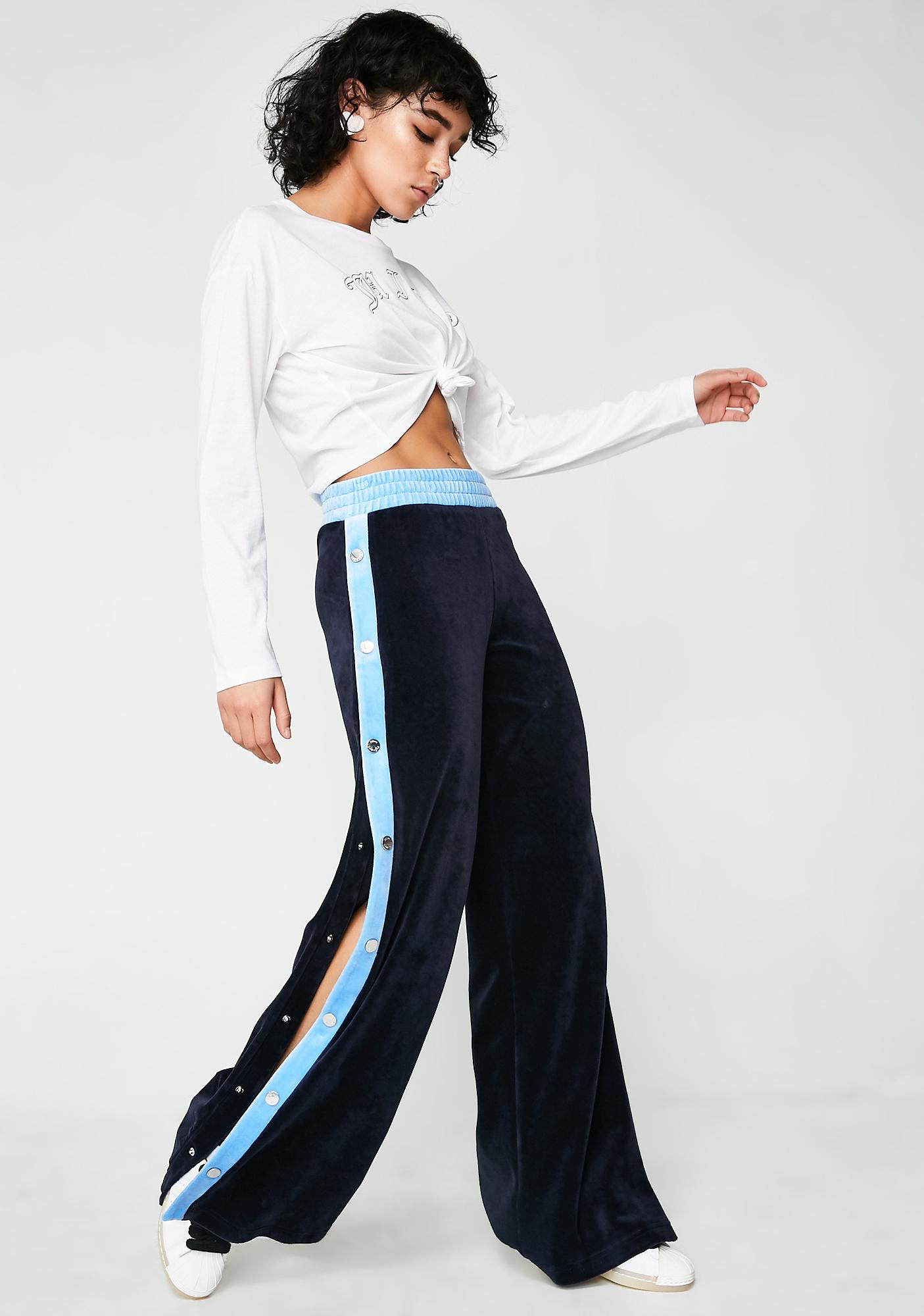 JUICY COUTURE Velour Breakaway Pants