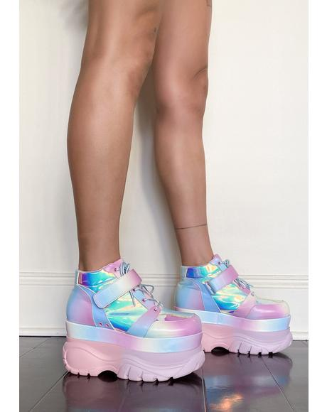 Sugar Shock Platform Sneakers