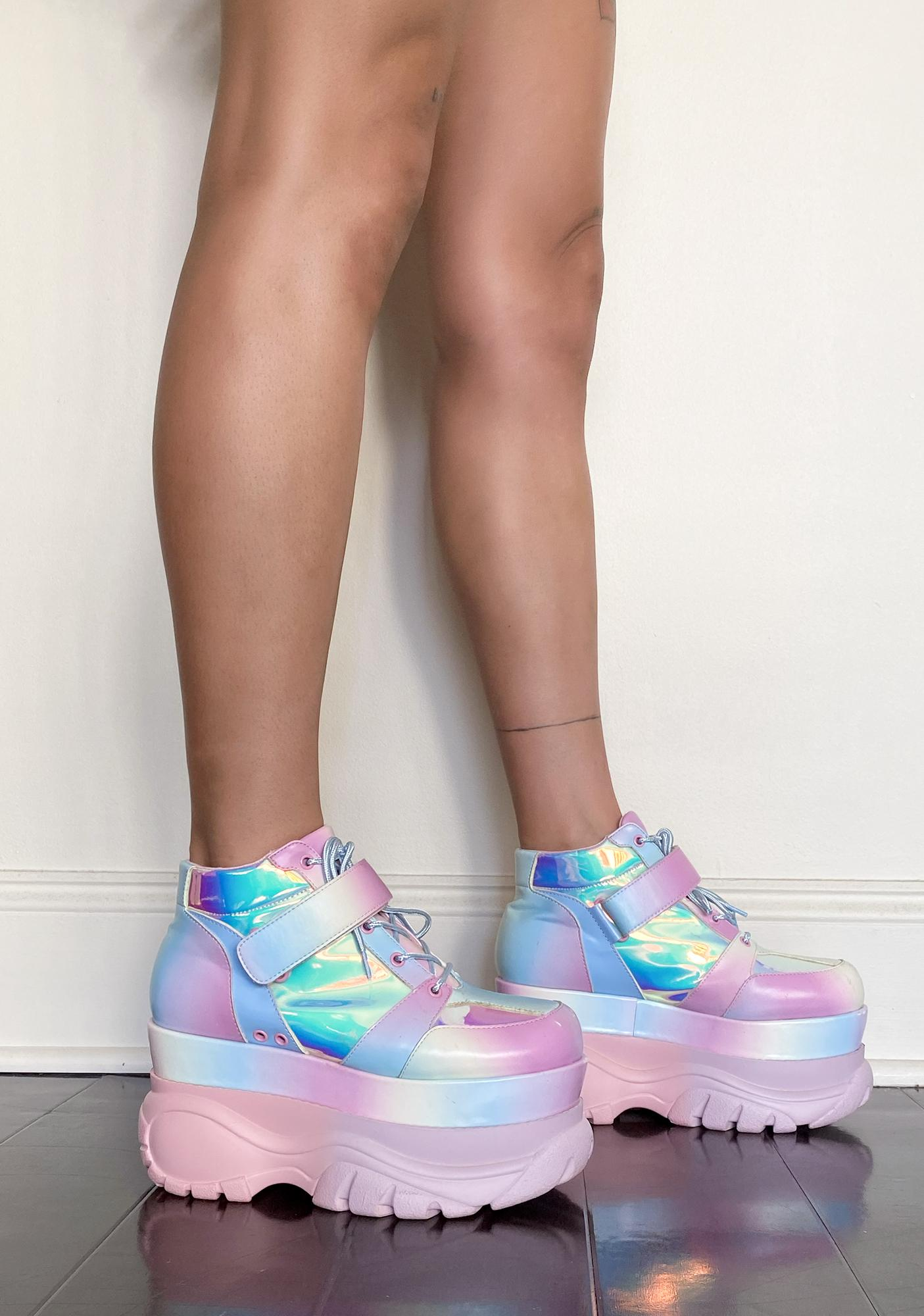Sugar Thrillz Sugar Shock Platform Sneakers