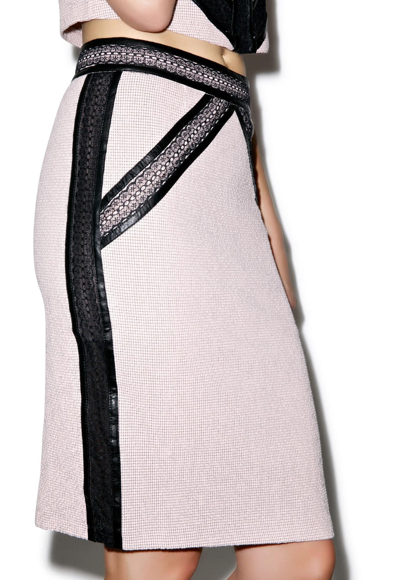 Coco No. 5 Tweed Skirt