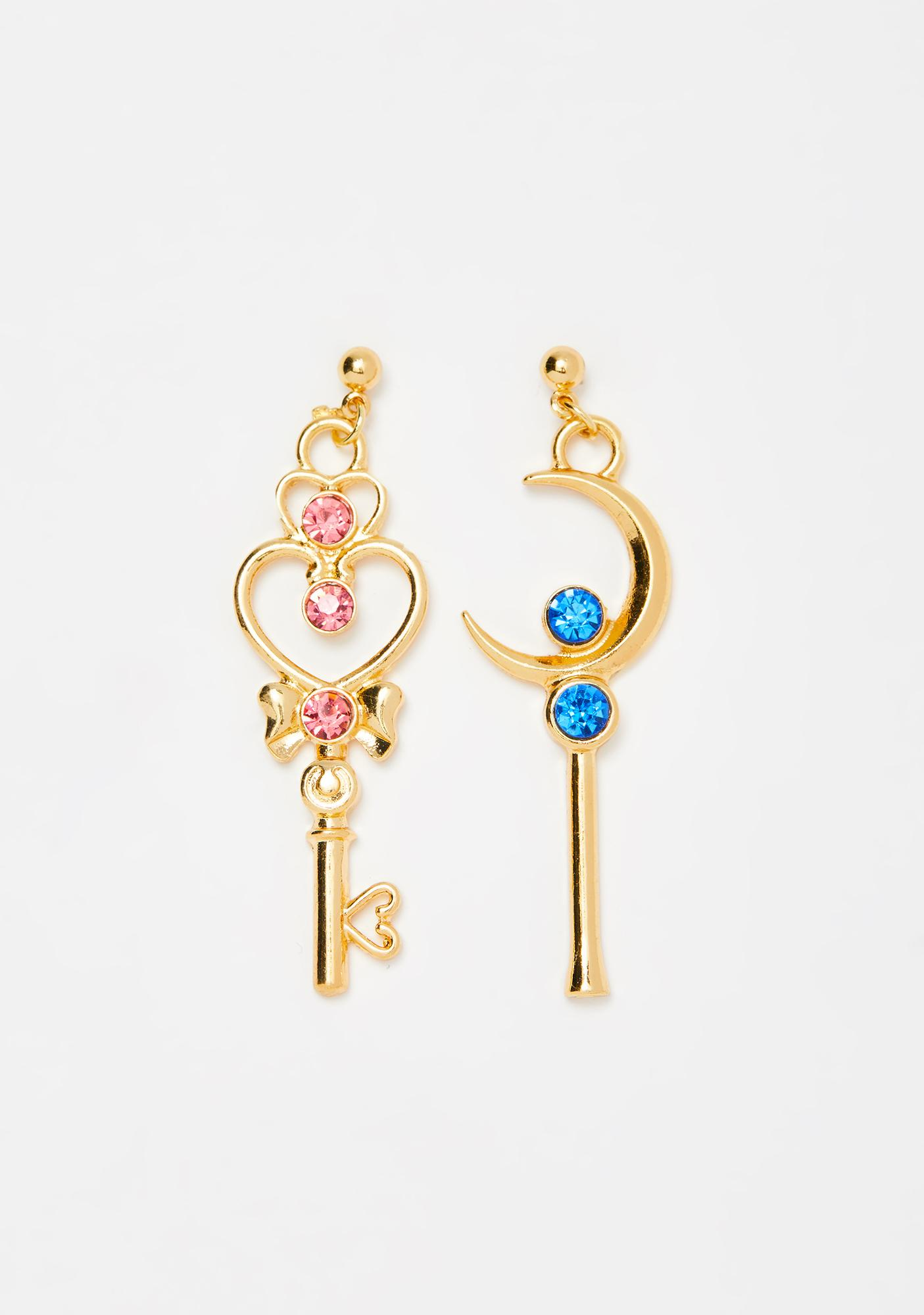 Girl Of Magic Wand Earrings