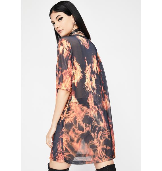 Hotness Overload Tee Dress