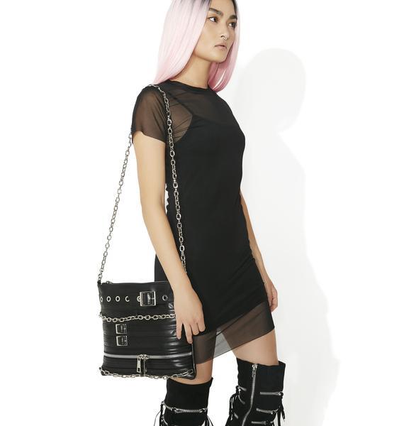 Obscura Mesh Mini Dress