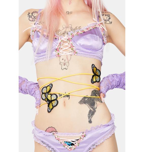 Always Dreaming Butterfly Wrap Belt