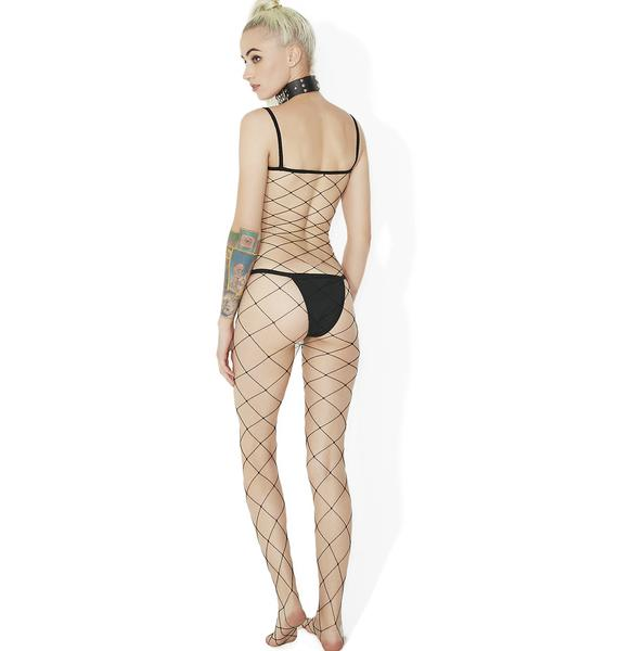 Dirty Daydream Fence Net Bodystocking