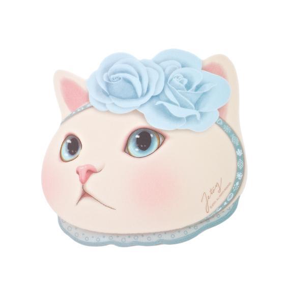 Jetoy Blue Rose Choo Choo Mouse Pad