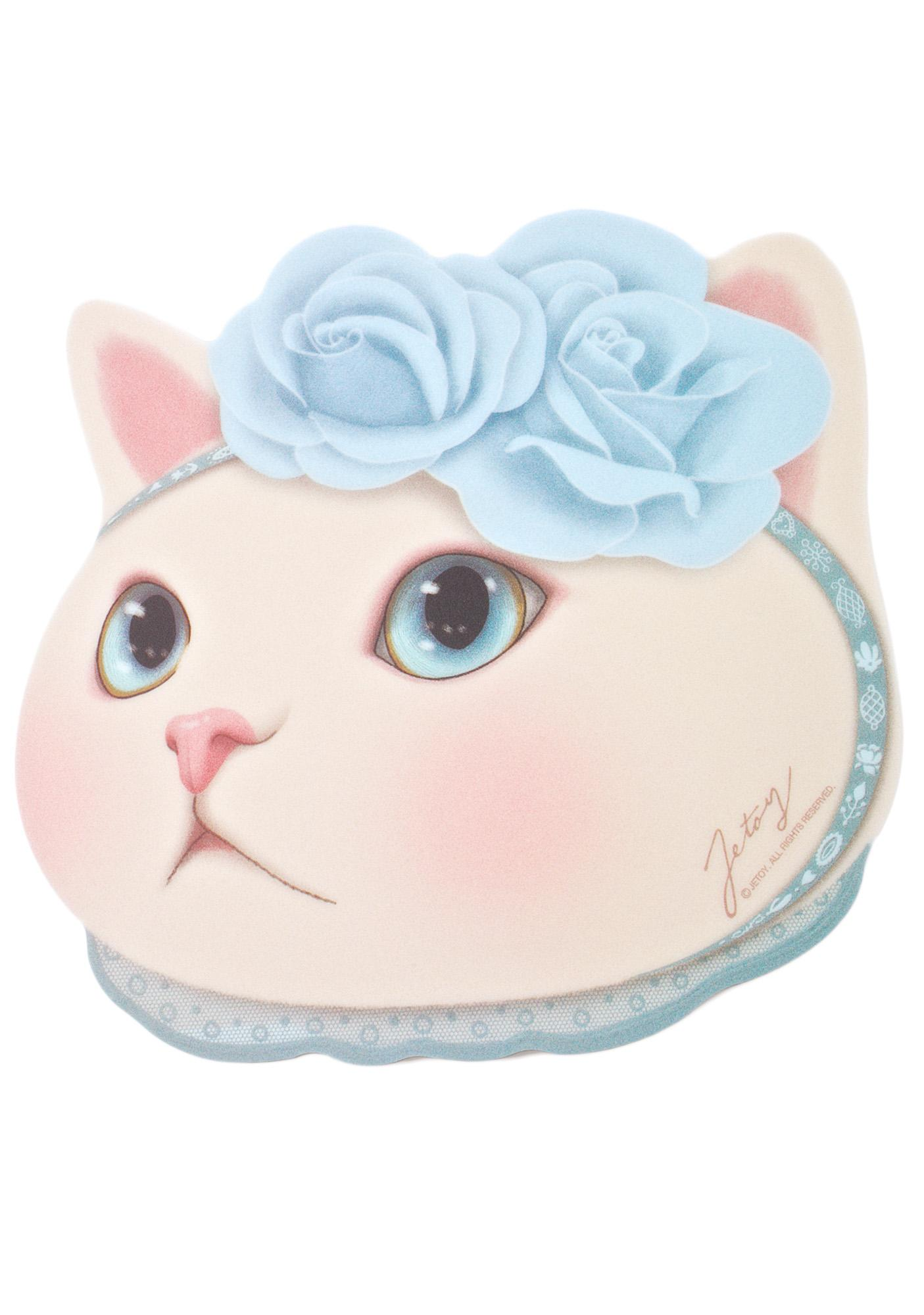 Jetoy Blue Rose Choo Choo Mouse Pad