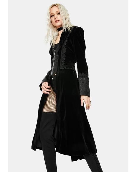 Noble Gothic Vampire Coat