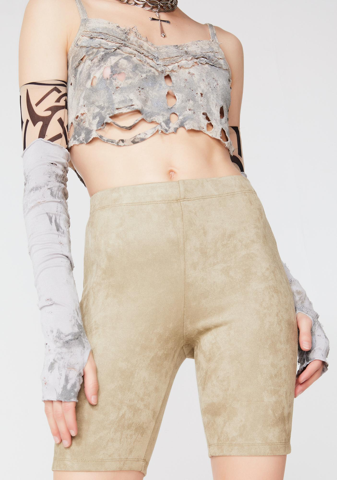 Wild Desert Biker Shorts