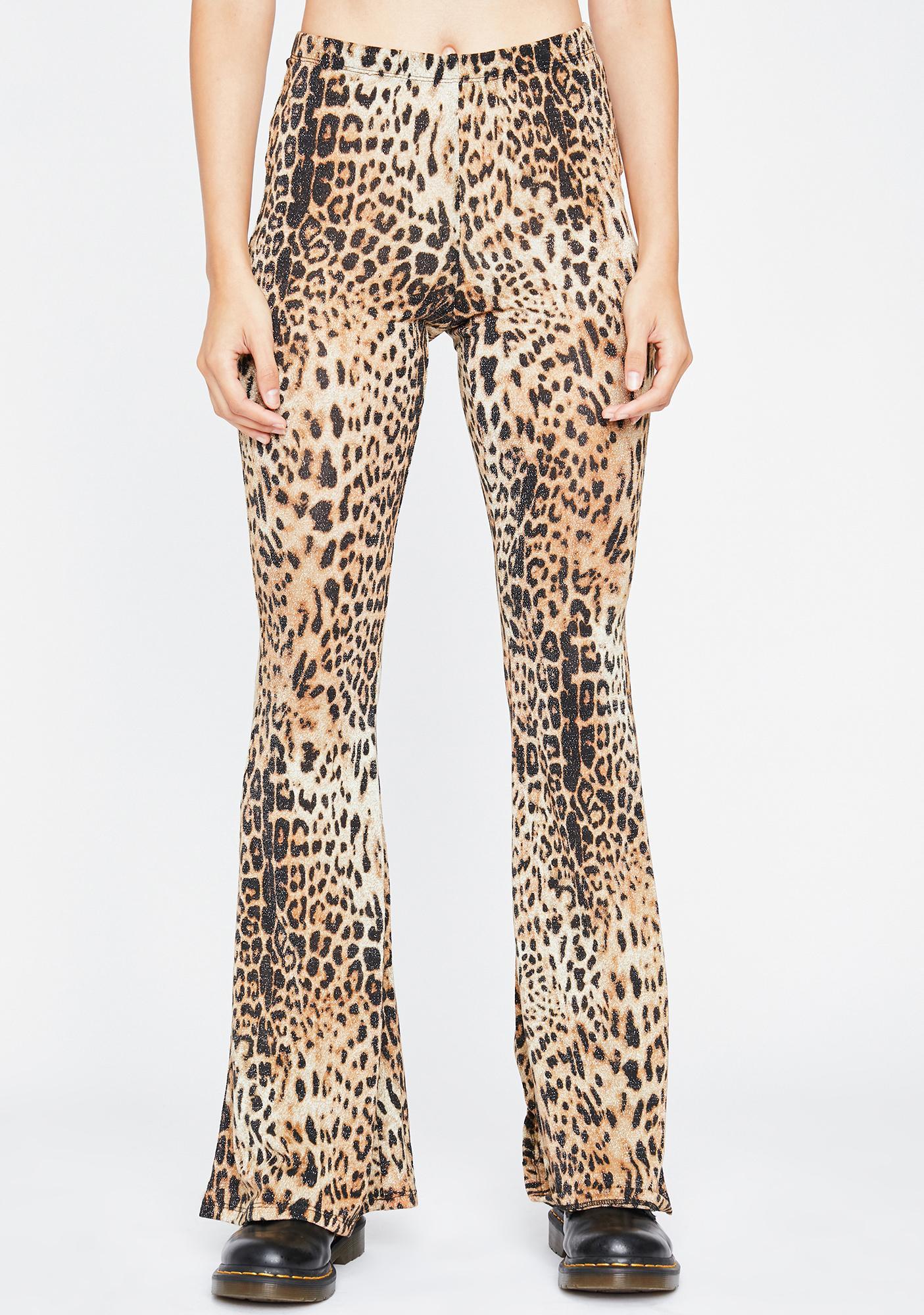 Kitty Shine Flared Pants