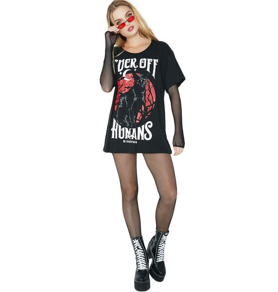Killstar Feral Relaxed Top