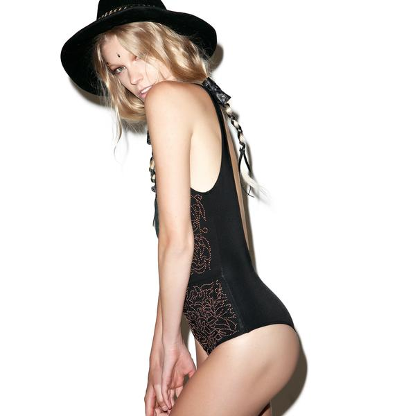 Beach Riot Gold Dust One Piece