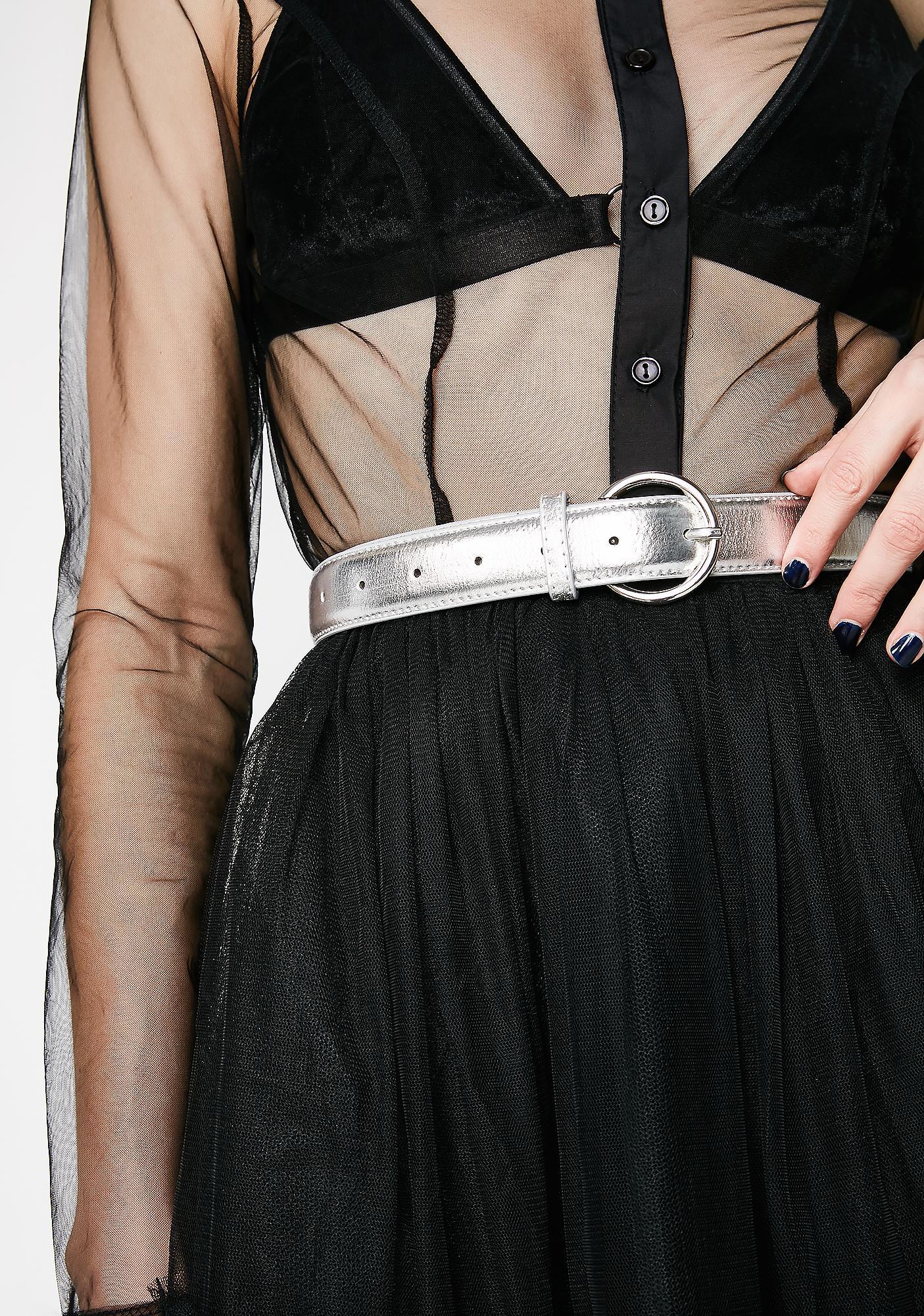 'Scuse Me Skinny Belt