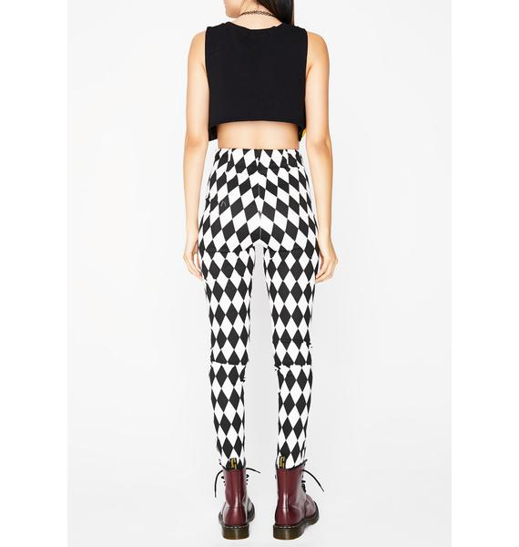 Like A Diamond Checkered Pants