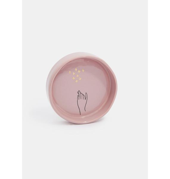 Rompotodo Orchid Magical Thinking Trinket Dish