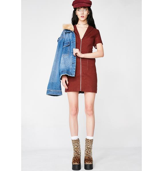 Daddy Ohh Mini Dress